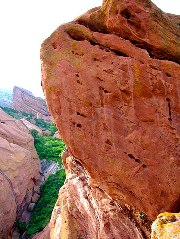 The Single-Largest Red Sandstone boulder you will ever see