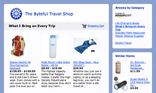 The Byteful Travel Shop preview
