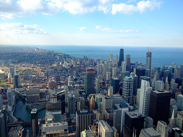 Chicago Skyline to Northeast ORIGINAL