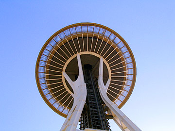 Saucer section of Space Needle (zoom)