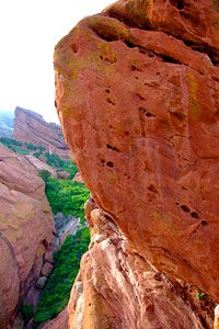 The Megaboulder in Red Rocks park