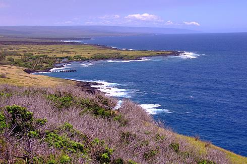 Hawaii's Southwestern coast