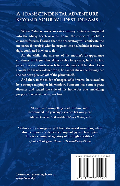 The Truth Beyond the Sky 2014 backcover