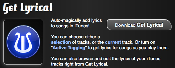 Get Lyrical app icon