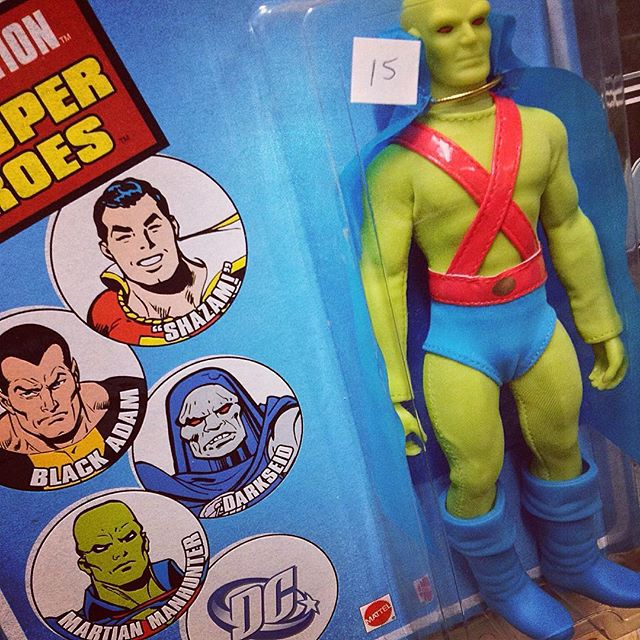 Martian Manhunter action figure
