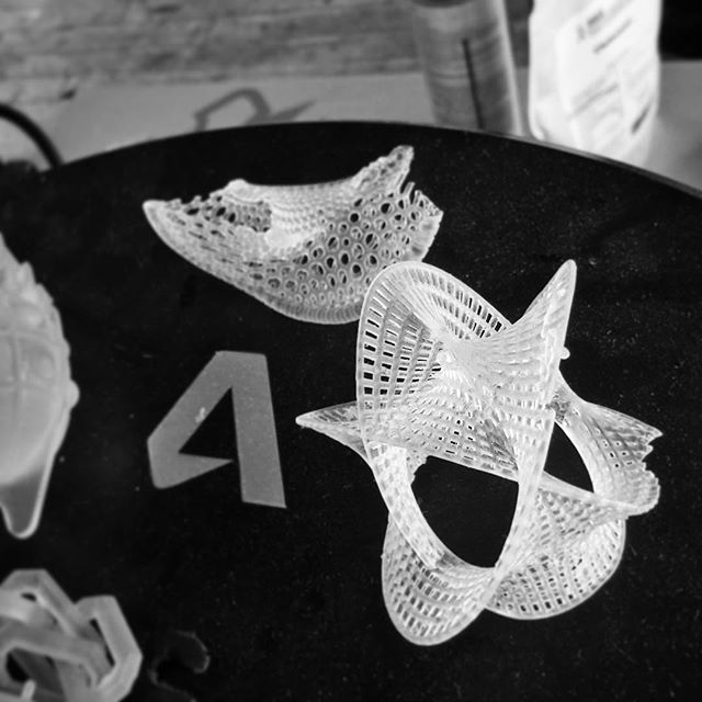 Noisebridge Hacker Space in SF is full of 3D printed creations