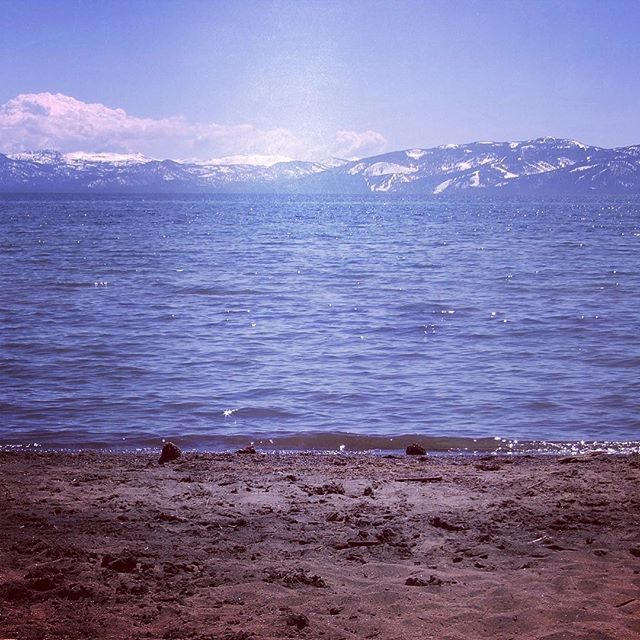 Lake Tahoe - Right on the LIP