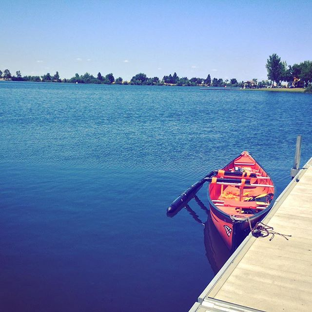Kayaking in Rancho Seco Lake