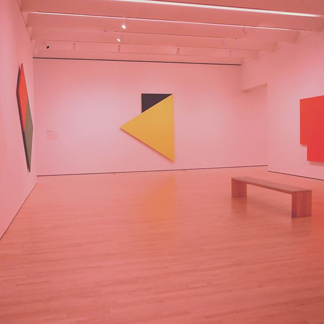 Ellsworth Kelly's multi-panel paintings at SFMOMA