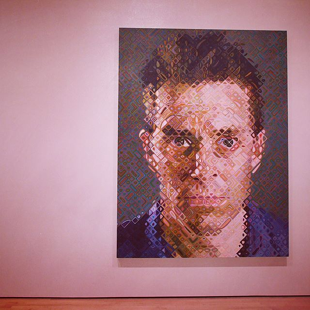 James by Chuck Close at SFMOMA