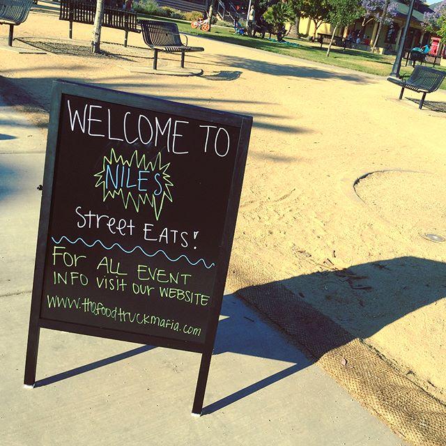 Food Truck Mafia in Niles sign