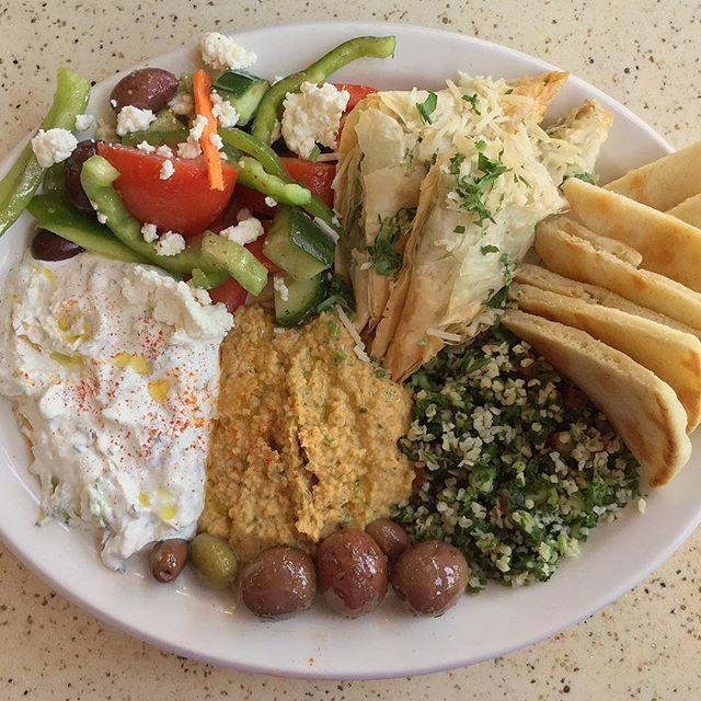 Greek Plate at Jack's Restaurant