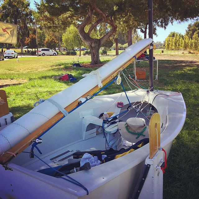 The Smallest Sailboat I've ever seen (Fremont Central Park)