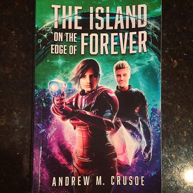 A Signed Copy of THE ISLAND ON THE EDGE OF FOREVER