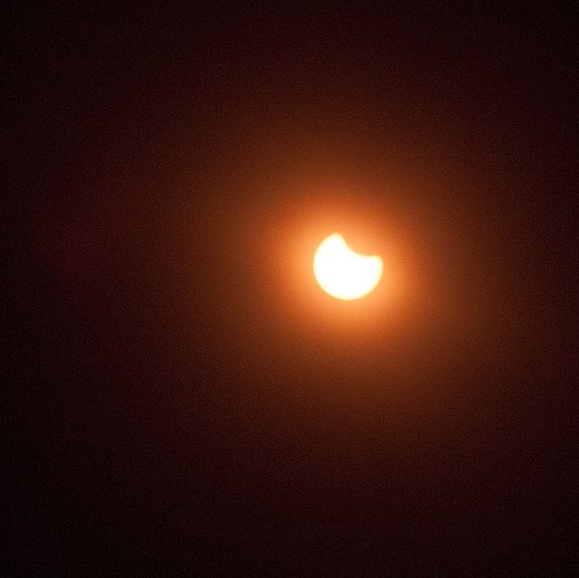 Great American Eclipse - Partial Phase at 09.30