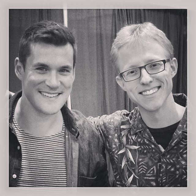Met Sean Maher, Simon Tam of Firefly Fame at Wizard World