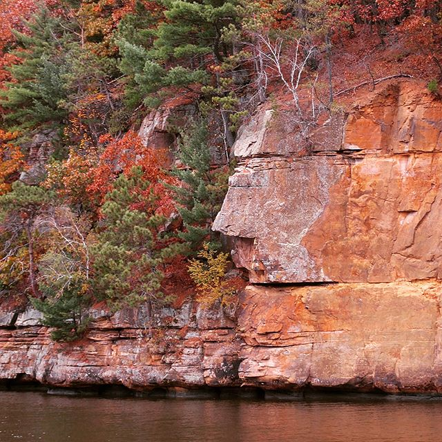 Blackhawk Face Rock Formation on Upper Dells Boat Tour – Wisconsin Dells