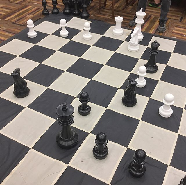 Playing Giant Chess at DaishoCon