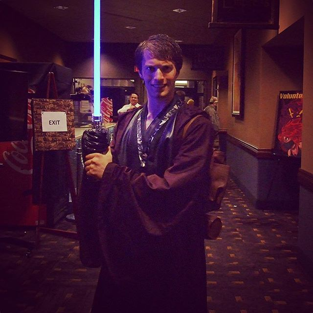 Luke Skywalker cosplay at DaishoCon 2017