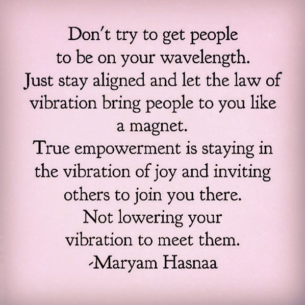 Photo Stay In A Vibration Of Joy Quote By Maryam Hasnaa