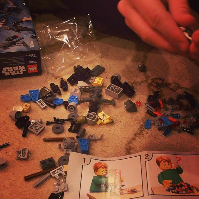 Star Wars LEGO makes a surprising appearance at Christmas