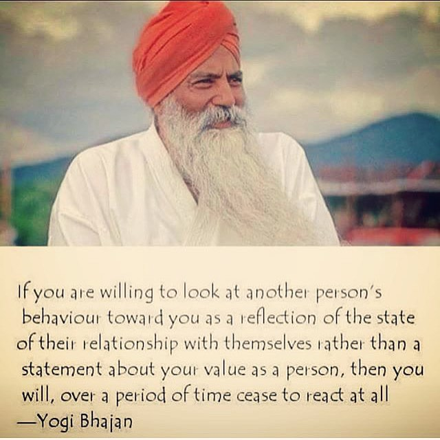 The Relationship with Ourselves Quote by Yogi Bhajan