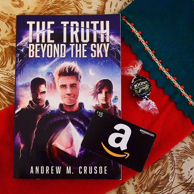 The Truth Beyond the Sky Sci-Fi paperback with a Amazon Gift Card