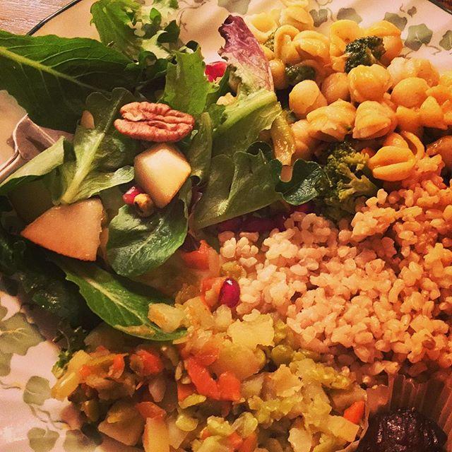 Salad at Delicious Vegan Potluck