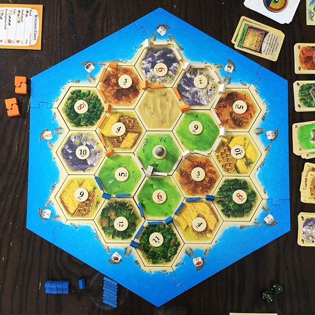 Playing Settler of Catan with Friends