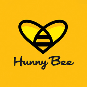 HunnyBee dating app logo