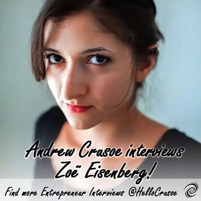 Zoe Eisenberg interview preview