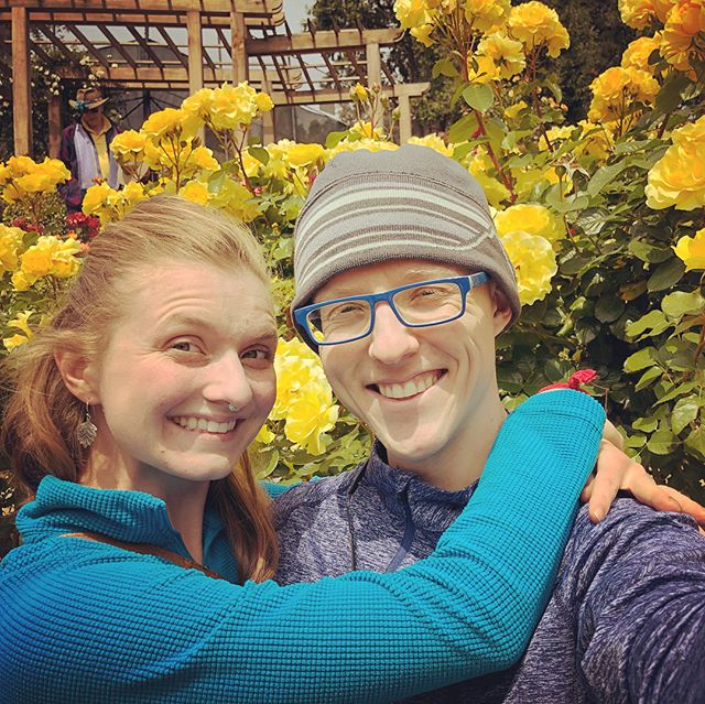 Visiting Berkeley Rose Garden with Jennifer Rose