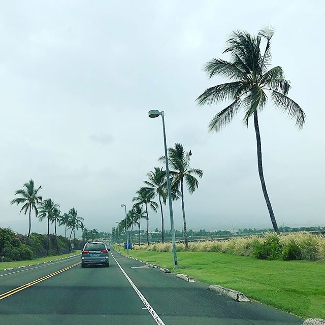 Leaving the Kona International Airport