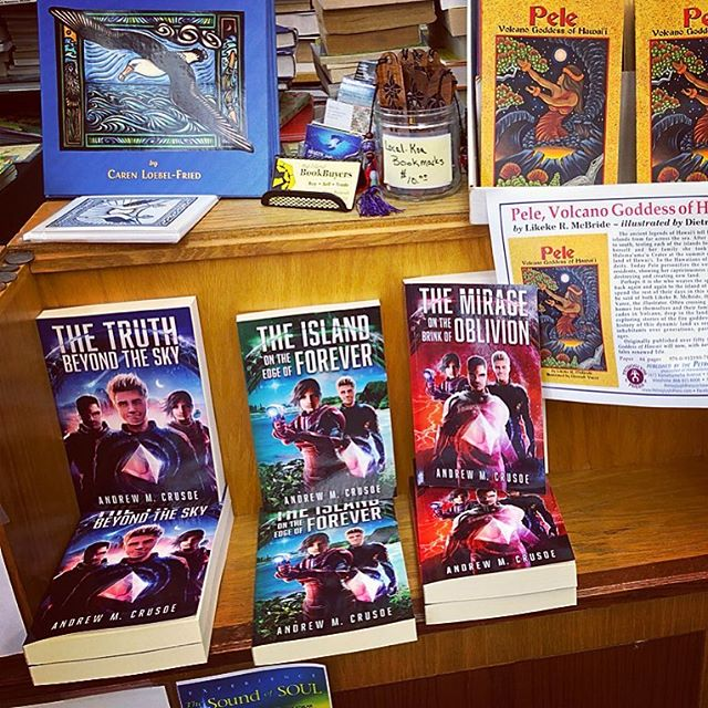 The Epic of Aravinda is now stocked at Big Island Book Buyers in Hilo, HI
