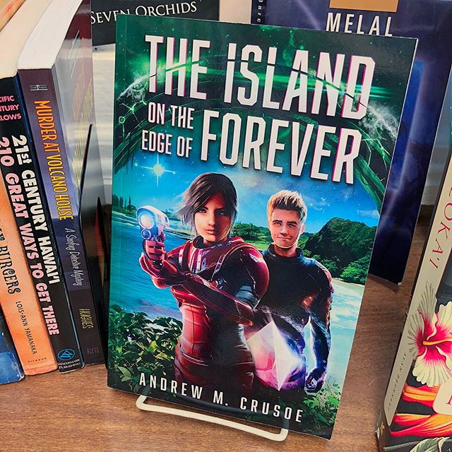 The Island on the Edge of Forever in Hawaii section of Big Island BookBuyers