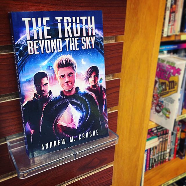 The Truth Beyond the Sky is selling fast at Big Island Book Buyers in Hilo!
