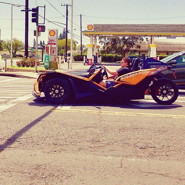 Saw Batman driving around Waimea (Kamuela, Big Island)