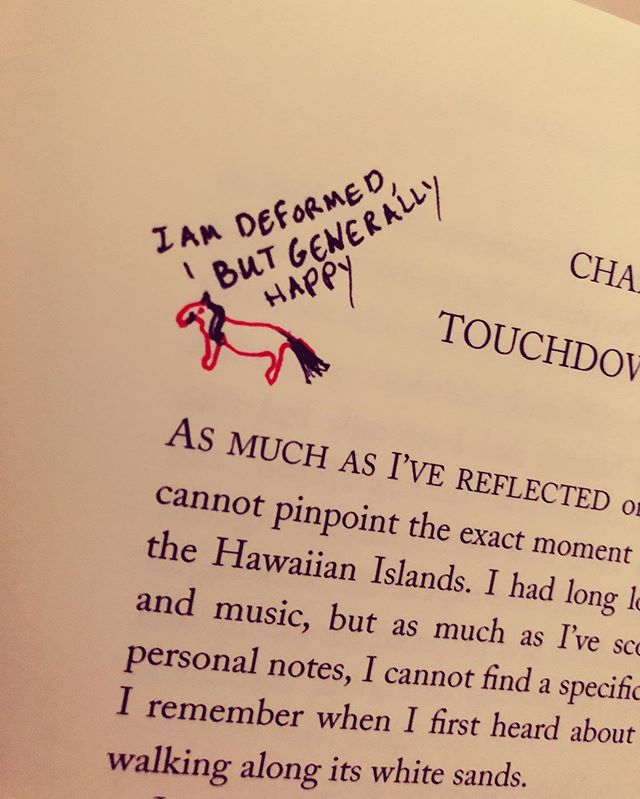 I am Deformed but Generally Happy (Art on Ten Thousand Hours in Paradise paperback)