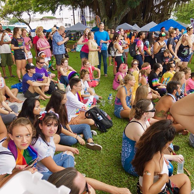 The Beautiful Diversity of Hilo Hawaii during Pride Week