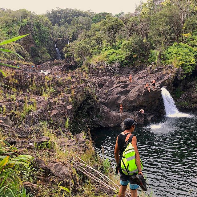 Waterfalls of Narnia in Hilo