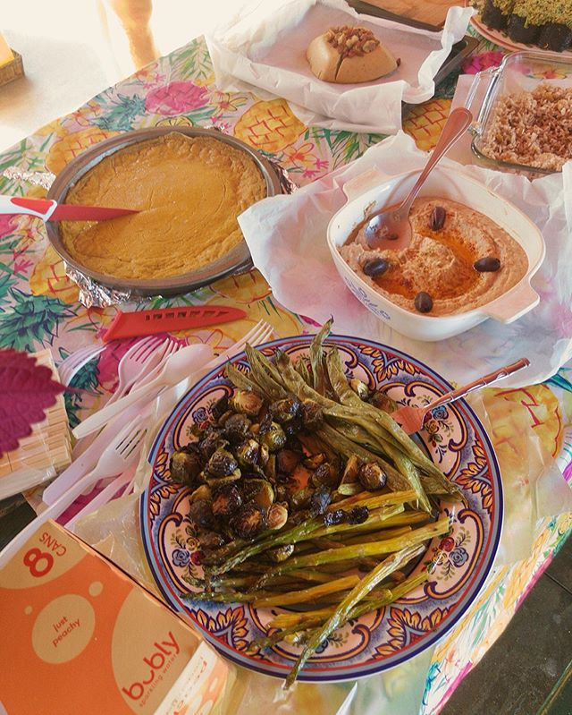 Vegan Thanksgiving Potluck at Onekahakaha Beach Park