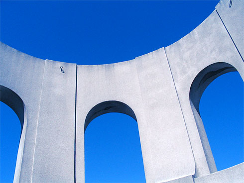 Blue Sky above Coit Tower