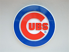 Life-Sized Chicago Cubs logo