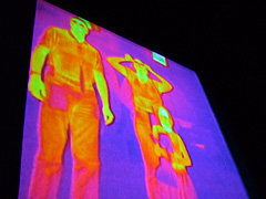 Infrared Image of a Family