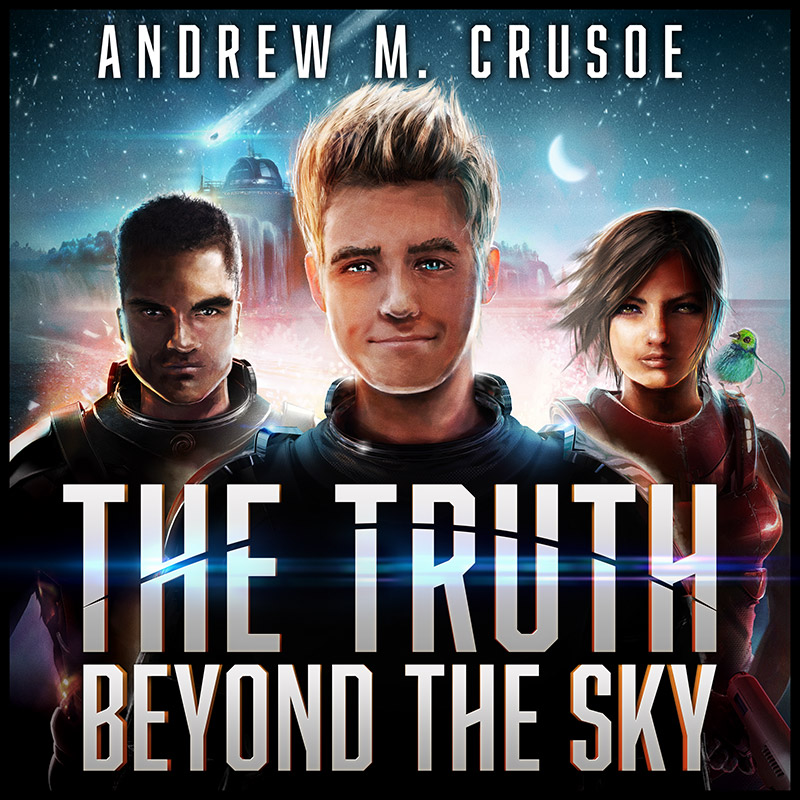 The Truth Beyond the Sky Audiobook 2015 cover