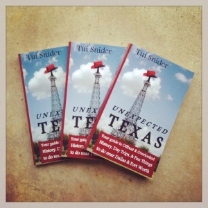 Unexpected Texas paperback books